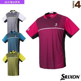 【テニス・バドミントン ウェア(メンズ/ユニ) スリクソン】 ゲームシャツ/ユニセックス(SDP-1802)テニスウェア男性用