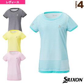 【テニス・バドミントン ウェア(レディース) スリクソン】 ゲームシャツ/レディース(SDP-1822W)テニスウェア女性用