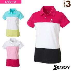 【テニス・バドミントン ウェア(レディース) スリクソン】 ポロシャツ/レディース(SDP-1830W)テニスウェア女性用