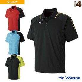 【テニス ジュニアグッズ ミズノ】 ゲームシャツ/ジュニア(62JA8015)子供用ジュニア用ジュニアウェアテニスウェア