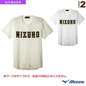 【野球 ウェア(メンズ/ユニ) ミズノ】 ミズノプロ ユニフォームシャツ/オープンタイプ(12JC8F03)