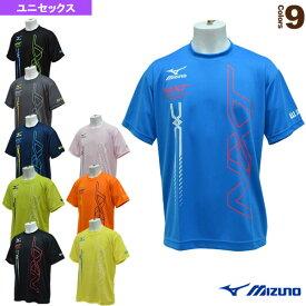 【テニス・バドミントン ウェア(メンズ/ユニ) ミズノ】 Tシャツ/N-XT/ユニセックス(62JA8Z53)バドミントンウェア