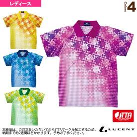 【卓球 ウェア(レディース) ルーセント】 ゲームシャツ/JTTA公認マーク付/レディース(XLP-479xP)