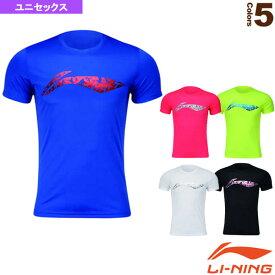 【テニス・バドミントン ウェア(メンズ/ユニ) リーニン】 トレーニングTシャツ/ユニセックス(AHSM467)