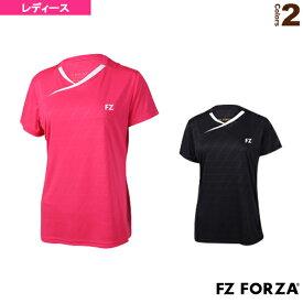 【テニス・バドミントン ウェア(レディース) フォーザ】 ゲームシャツ/レディース(302494)