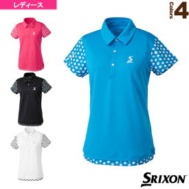 【テニス・バドミントン ウェア(レディース) スリクソン】 ポロシャツ/ツアーライン/レディース(SDP-1865W)テニスウェア女性用