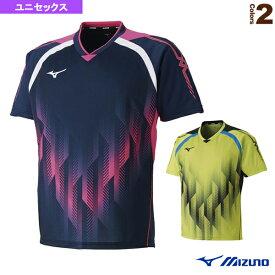 【卓球 ウェア(メンズ/ユニ) ミズノ】 ゲームシャツ/ユニセックス(82JA8501)