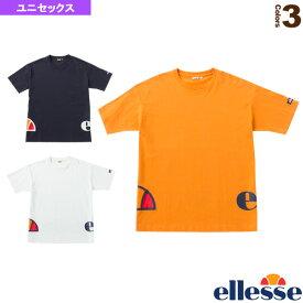 【ライフスタイル ウェア(メンズ/ユニ) エレッセ】 ラウンドロゴティー/ユニセックス(EH19107)