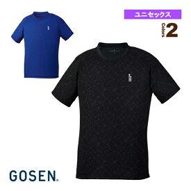 【テニス・バドミントン ウェア(メンズ/ユニ) ゴーセン】 ゲームシャツ/ユニセックス(T1904)