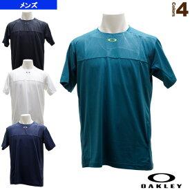 【テニス・バドミントン ウェア(メンズ/ユニ) オークリー】 ENHANCE SLANT GRAPHIC CREW 9.0/ゲームシャツ/メンズ(457722)