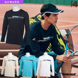 【テニス・バドミントン ウェア(メンズ/ユニ) バボラ】 ロングスリーブシャツ/フラッグシップライン/ユニセックス(BTUNJB32)