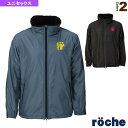 【テニス・バドミントン ウェア(メンズ/ユニ) ローチェ(roche)】 防寒ジャケット/ユニセックス(R8AU4J)
