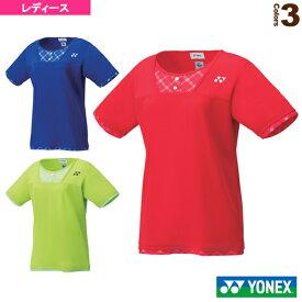 【テニス・バドミントン ウェア(レディース) ヨネックス】 ゲームシャツ/レギュラータイプ/レディース(20499)