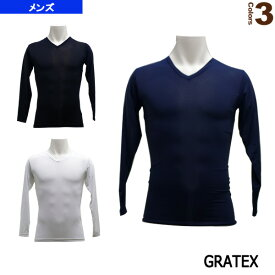 【オールスポーツ アンダーウェア グラテックス】 7MERITS/冷感コンプレッション長袖Vネック/メンズ(3322)