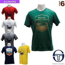 【テニス・バドミントン ウェア(メンズ/ユニ) セルジオタッキーニ】 CORA/MC/MCH T-SHIRT/コラ/モンテカルロ MCH Tシャツ/ユニセックス(SGT-38136)