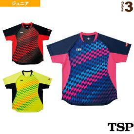 【卓球 ウェア(メンズ/ユニ) TSP】 チェッカーグラデシャツ/ジュニア(031431)