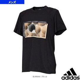 【テニス・バドミントン ウェア(メンズ/ユニ) アディダス】 aSMC IVIEW TEE/ステラマッカートニー Tシャツ/メンズ(GDO73)