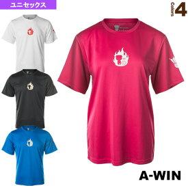 【テニス・バドミントン ウェア(メンズ/ユニ) A-WIN(アーウィン)】 半袖Tシャツ/ユニセックス(AW1851LD)