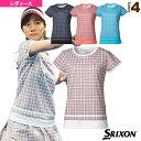 【テニス・バドミントン ウェア(レディース) スリクソン】 ゲームシャツ/ツアーライン/レディース(SDP-1962W)