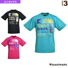 【テニス・バドミントン ウェア(メンズ/ユニ) ブラックナイト】 BK Tシャツ(bk140)/ユニセックス(T-9140)