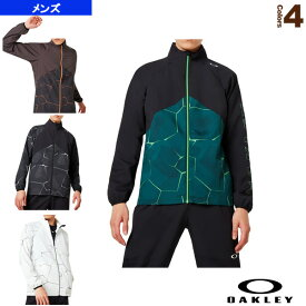【テニス・バドミントン ウェア(メンズ/ユニ) オークリー】 PC DRY EXPLOSION CLOTH JACKET/クロスジャケット/メンズ(412857JP)