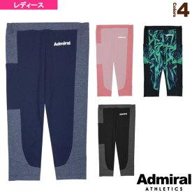 【テニス・バドミントン ウェア(レディース) アドミラル(Admiral)】 プラクティスクロップドレギンス/レディース(ATLA902)