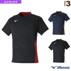 【テニス・バドミントン ウェア(メンズ/ユニ) ミズノ】 ゲームシャツ/ユニセックス(72MA0001)