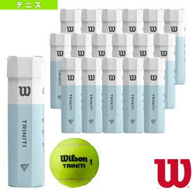 【テニス ボール ウィルソン】 TRINITI 4 Ball/4球入×18パッケージ(WRT115200)