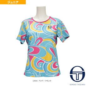 【テニス ジュニアグッズ セルジオタッキーニ】 BARBIE JRF T-SHIRT/バービー Tシャツ/ガールズ(SGT-38458)