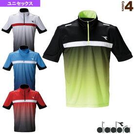【テニス・バドミントン ウェア(メンズ/ユニ) ディアドラ】 team pack/ゲームシャツ/ユニセックス(DTG0335)