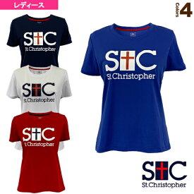 【テニス・バドミントン ウェア(レディース) セントクリストファー】 STCプラクティスTシャツ/レディース(STC-BKW2151)