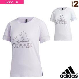 【オールスポーツ ウェア(レディース) アディダス】 W STYLE BOS GRFX Tシャツ/レディース(03218)