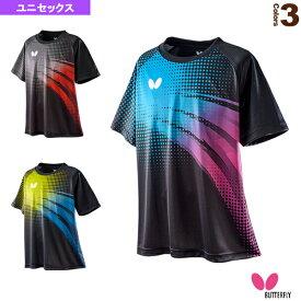 【卓球 ウェア(メンズ/ユニ) バタフライ】 フリプル・Tシャツ/ユニセックス(45660)