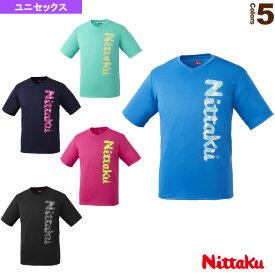 【卓球 ウェア(メンズ/ユニ) ニッタク】 ビーロゴTシャツ-2/ユニセックス(NX-2097)