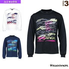 【テニス・バドミントン ウェア(メンズ/ユニ) ブラックナイト】 ロングTシャツ/ユニセックス(T-0240)