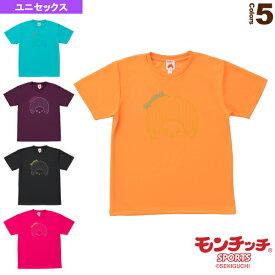 【テニス・バドミントン ウェア(メンズ/ユニ) モンチッチスポーツ】 モンチッチ Tシャツ/ユニセックス(M0042)