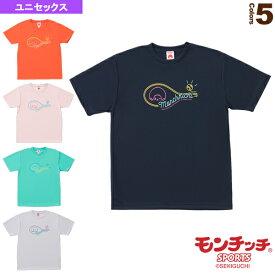 【テニス・バドミントン ウェア(メンズ/ユニ) モンチッチスポーツ】 モンチッチ Tシャツ/ユニセックス(M0045)