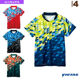 【卓球 ウェア(メンズ/ユニ) ヴィクタス】 V-GS220/ゲームシャツ/ユニセックス(512101)