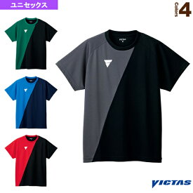 【卓球 ウェア(メンズ/ユニ) ヴィクタス】 V-TS230/プラクティスシャツ/ユニセックス(532101)