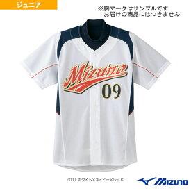 【野球 ウェア(メンズ/ユニ) ミズノ】 Jr.ユニフォームシャツ/09ジャパン・ホームモデル/ジュニア(52MJ08301)