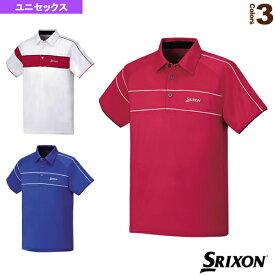 【テニス・バドミントン ウェア(メンズ/ユニ) スリクソン】 TEAM LINE/ポロシャツ/ユニセックス(SDP-1551)テニスウェア男性用