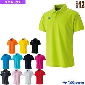 【テニス・バドミントン ウェア(メンズ/ユニ) ミズノ】 ポロシャツ/ユニセックス(62JA6010)
