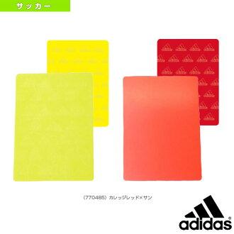 阿迪达斯 /adidas 足球裁判 (裁判) 用品裁判卡 (Z1328)