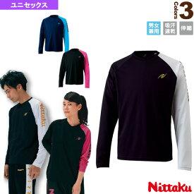 【卓球 ウェア(メンズ/ユニ) ニッタク】 ロング AS Tシャツ/ユニセックス(NX-2074)