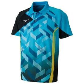 ミズノ・卓球ゲームシャツ(ジュニアサイズ)(JTTAマーク付)82JA801024