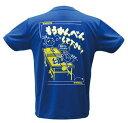 ヤサカ・卓球Tシャツ(メンズサイズ)【もうかんべんして下さい!】YK-205-Be