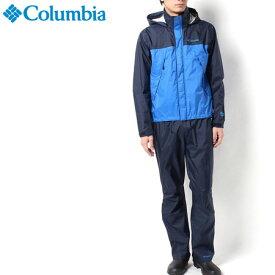 コロンビア/シンプソンサンクチュアリレインスーツ 【メンズ レインウェアー上下セット(男性用登山用雨具/雨カッパ)】Columbia PM0124