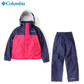 コロンビア 子供用雨具 上下セット シンプソンサンクチュアリユースユースレインスーツ キッズ・ジュニア 登山・トレッキング PY0072
