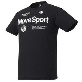 大谷翔平着用モデル デサント サンスクリーン 半袖 Tシャツ メンズ DMMRJA60-BK