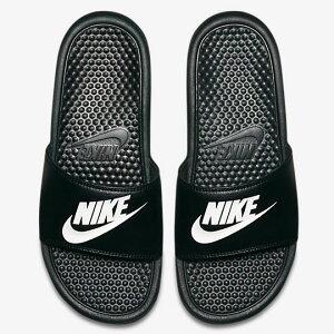 NIKE ナイキ ベナッシ メンズ スポサン スポーツサンダル・シャワーサンダル ブラック/ホワイト 343880-090